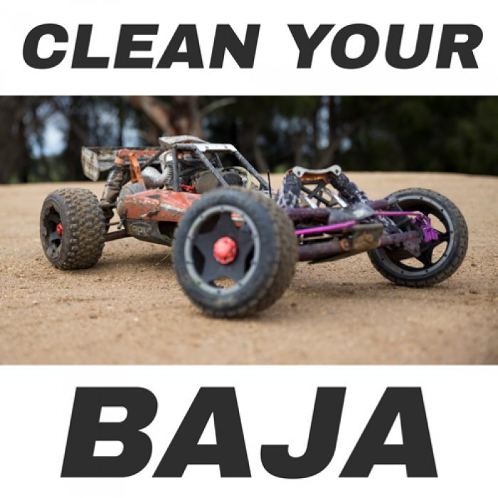 How To Clean An RC Baja