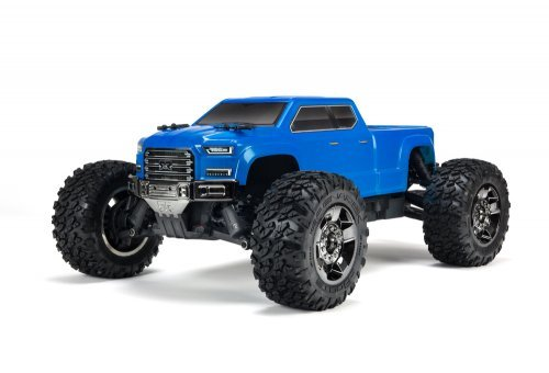 ARRMA 1/10 GRANITE 4x4 BIG ROCK CREW CAB BLX 3S Brushless Blue RC Monster Truck