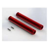 ARRMA Red Aluminium 80mm Drive Shaft Slider 2Pcs