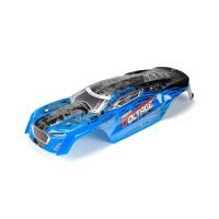 ARRMA 1/10 FAZON Voltage Blue Painted Body Shell