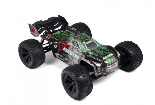 ARRMA 1/8 KRATON Green Painted Body Shell