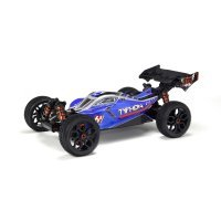 ARRMA 1/8 TYPHON V3 Blue Painted Body Shell