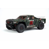 ARRMA SENTON 6S Short Course Truck Black/Green Painted Body Shell