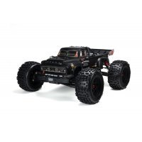 ARRMA 1/8 NOTORIOUS Real Steel Matte Black Painted Body Shell