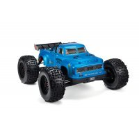 ARRMA 1/8 NOTORIOUS Real Steel Matte Blue Painted Body Shell