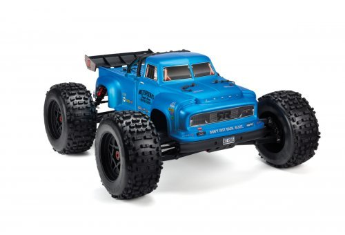 ARRMA 1/8 NOTORIOUS Blue Unpainted Body Shell