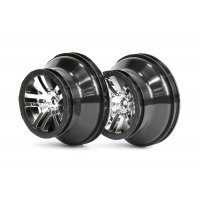 "ARRMA 2.2/3.0"" FURY Rims Black Chrome 2Pcs"
