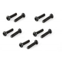 ARRMA 3x12mm Fine Thread Binder Head Screws 10Pcs