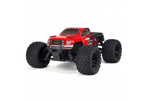 ARRMA 1/10 GRANITE 4x4 Mega Electric Brushed RC Monster Truck - Red
