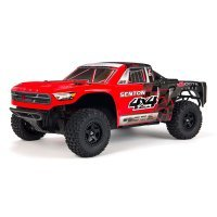 ARRMA 1/10 SENTON 4x4 Mega Electric Brushed RC Short Course Truck - Red