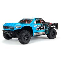 ARRMA 1/10 SENTON 4x4 Mega Electric Brushed RC Short Course Truck - Blue