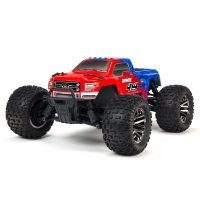ARRMA 1/10 GRANITE 4x4 BLX 3S Brushless RC Monster Truck - Red