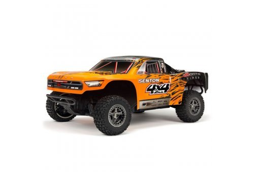 ARRMA 1/10 SENTON 4x4 BLX 3S Brushless Orange RC Short Course Truck