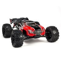 ARRMA 1/8 Kraton BLX (V4) Brushless RC Truggy - Red