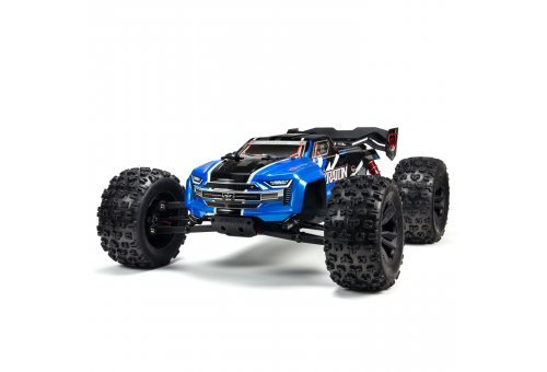 ARRMA 1/8 Kraton BLX (V4) Brushless RC Truggy - Blue
