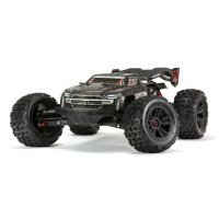 ARRMA 1/8 Kraton 4WD Extreme Bash Roller RC Truggy - Black