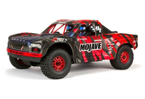 ARRMA 1/7 MOJAVE BLX Desert Racer Electric Brushless Off Road Short Course Truck - RED