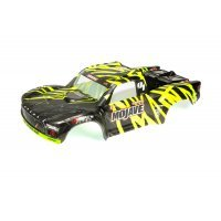 ARRMA 1/7 Mojave BLX Black/Green Painted Short Course Body Shell