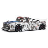ARRMA 1/7 INFRACTION 6S BLX Street Basher RC On Road Car - Silver