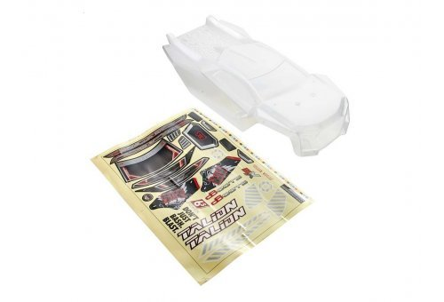 ARRMA 1/8 TALION Clear Unpainted Body Shell w/ Decals
