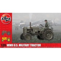 Airfix 1/35 U.S. Army Tractor Tank Scaled Plastic Model Kit