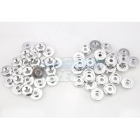 Area RC Silver Aluminium 5IVE-T Body Washers 52Pcs