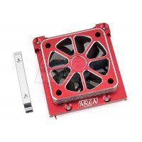 Area RC Red Aluminium X-Maxx 60x60mm Motor Cooling Fan