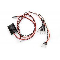 Axial 4 White/2 Red LED Set w/ Controller