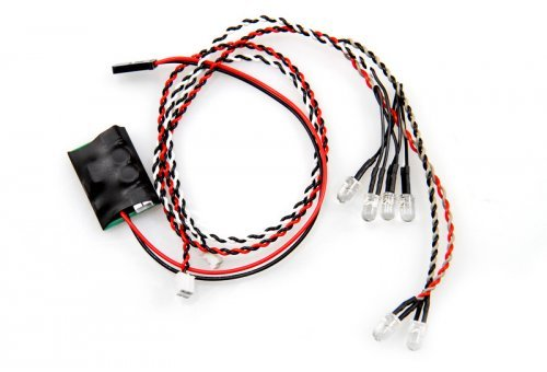 AX24257 | Axial 4 White/2 Red LED Set w/ Controller