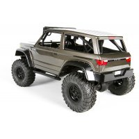 Axial Spawn Clear Unpainted Body Shell w/ Decal Sheet