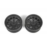 "Axial 1.9"" Method Mesh Black Rims 2Pcs"