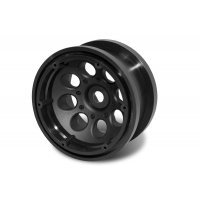 "Axial 2.2"" 8 Hole Black Rims 2Pcs"