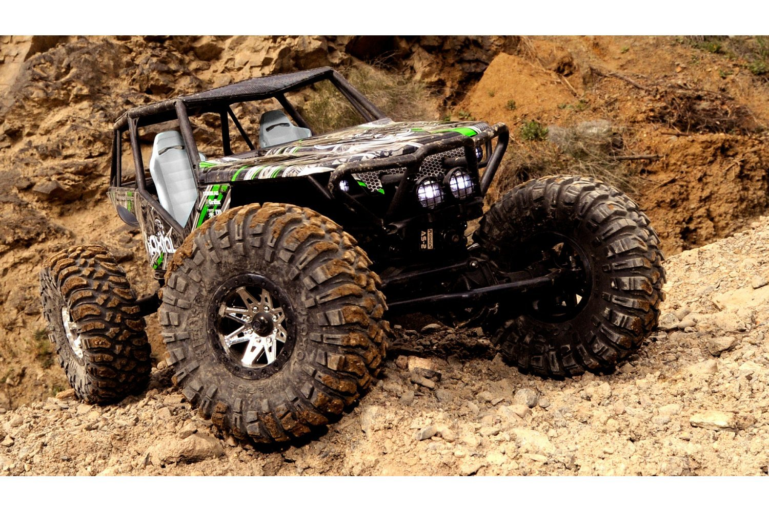 Axial 1/10 Wraith Electric 4WD RC Rock Racer Truck