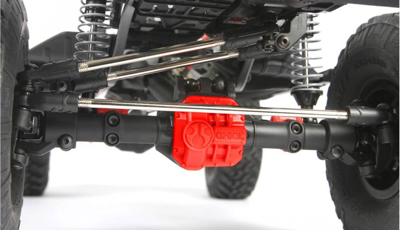 Axial 1/10 SCX10 II 2017 Jeep Wrangler Unlimited CRC RTR RC Rock Crawler