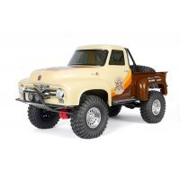 Axial 1/10 SCX10 II 1955 Ford F-100 RTR RC Rock Crawler - Brown