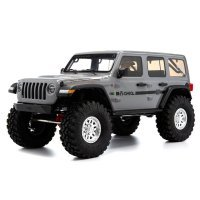 Axial 1/10 SCX10 III 2017 Jeep JLU Wrangler RTR RC Rock Crawler - Grey