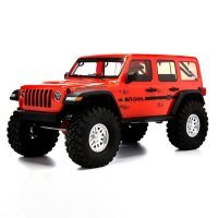 Axial 1/10 SCX10 III 2017 Jeep JLU Wrangler RTR RC Rock Crawler - Orange