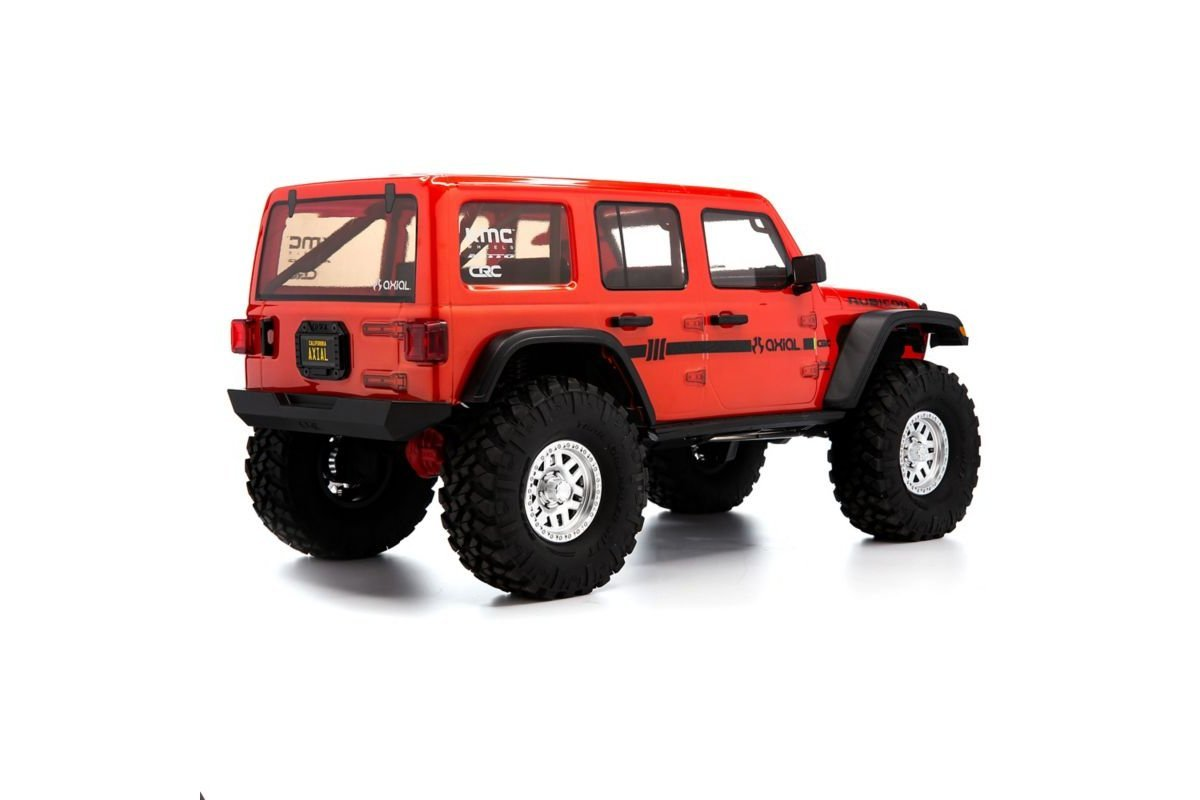 GPM Aluminum Adjustable Rear Damper Mount Red Axial SCX10 III Jeep Wrangler