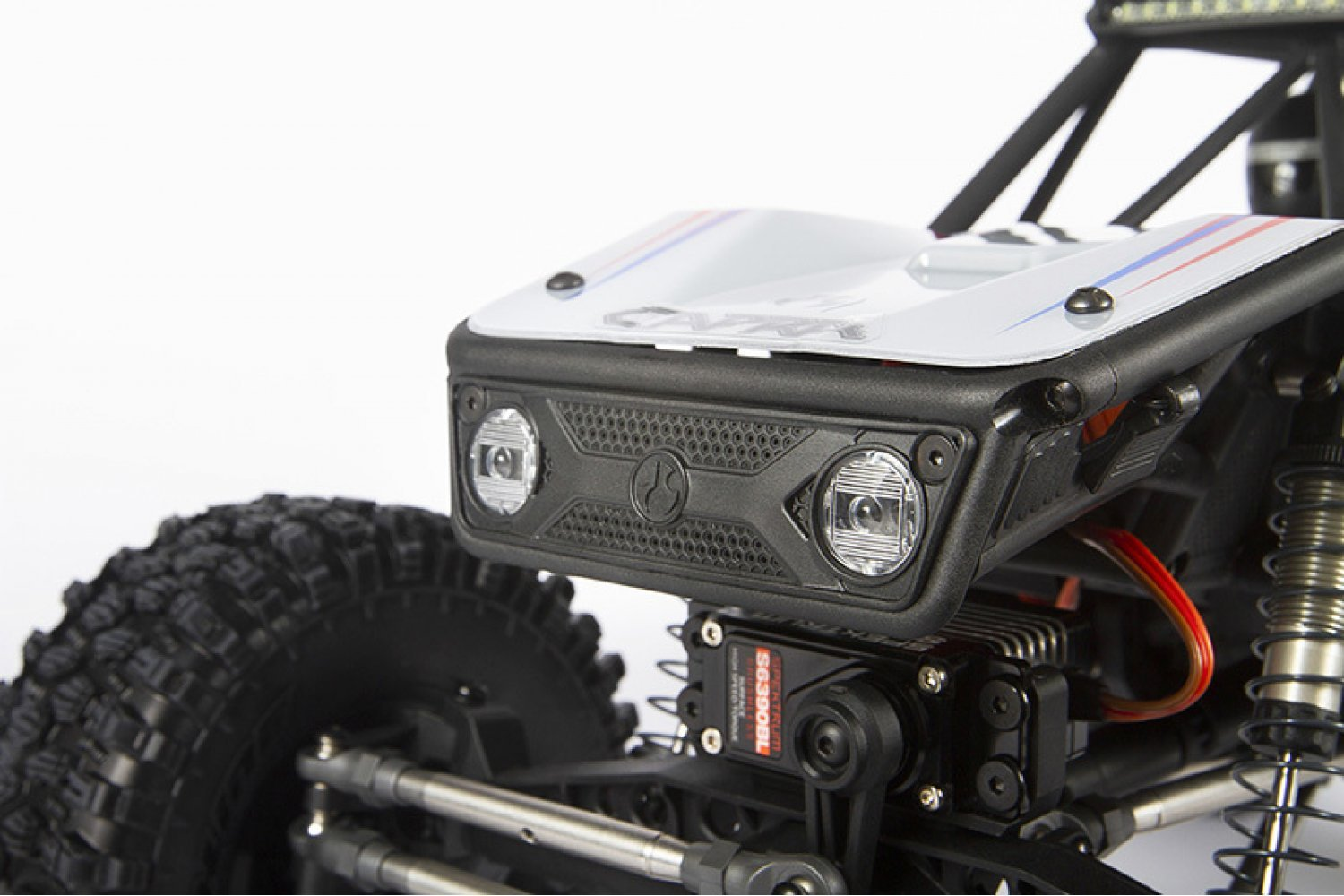 Axial 1/10 Capra 1.9 Unlimited Trail Truck Builders Kit RC Rock Crawler