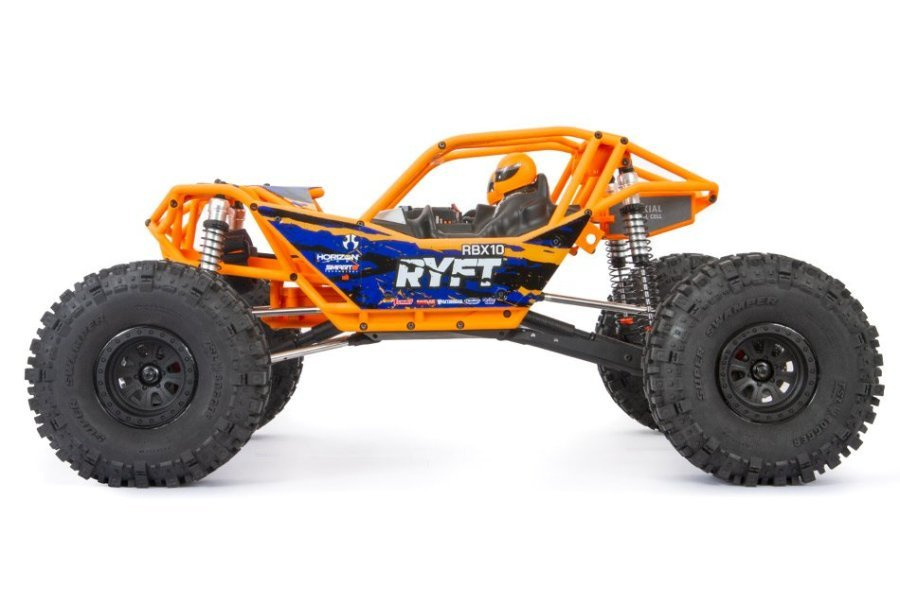 Axial 1/10 RBX10 Ryft 4WD Electric Brushless Off-Road RTR RC Rock Racer - Orange