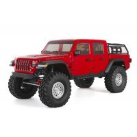 Axial 1/10 SCX10 III Jeep JT Gladiator RTR RC Rock Crawler - Red