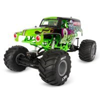 Axial 1/10 SMT10 Monster Jam Grave Digger Electric 4WD RC Rock Racer Truck RTR
