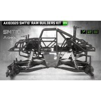 Axial 1/10 SMT10 Monster Jam Grave Digger Electric 4WD Kit RC Rock Racer Truck