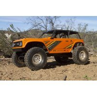 Axial 1/10 Wraith 1.9 Electric 4WD RC Rock Racer Truck - Orange