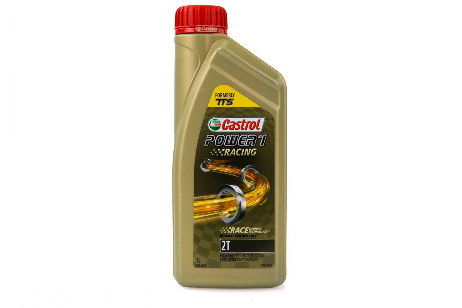 3384385 | Castrol Power 1 TTS Racing Power 1 2T Fully Synthetic 2 Stroke  Engine Oil 1L