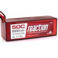 Dynamite Reaction 14.8v 5000mAh 50C LiPo Battery