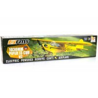 FMS 1030mm Piper J-3 Cub V2 RTF Yellow RC Plane