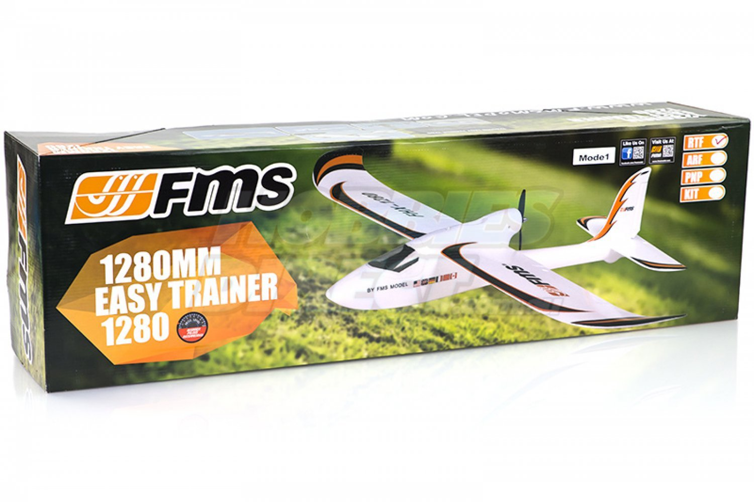 FMS051R | FMS 1280mm Easy Trainer RTF RC Plane