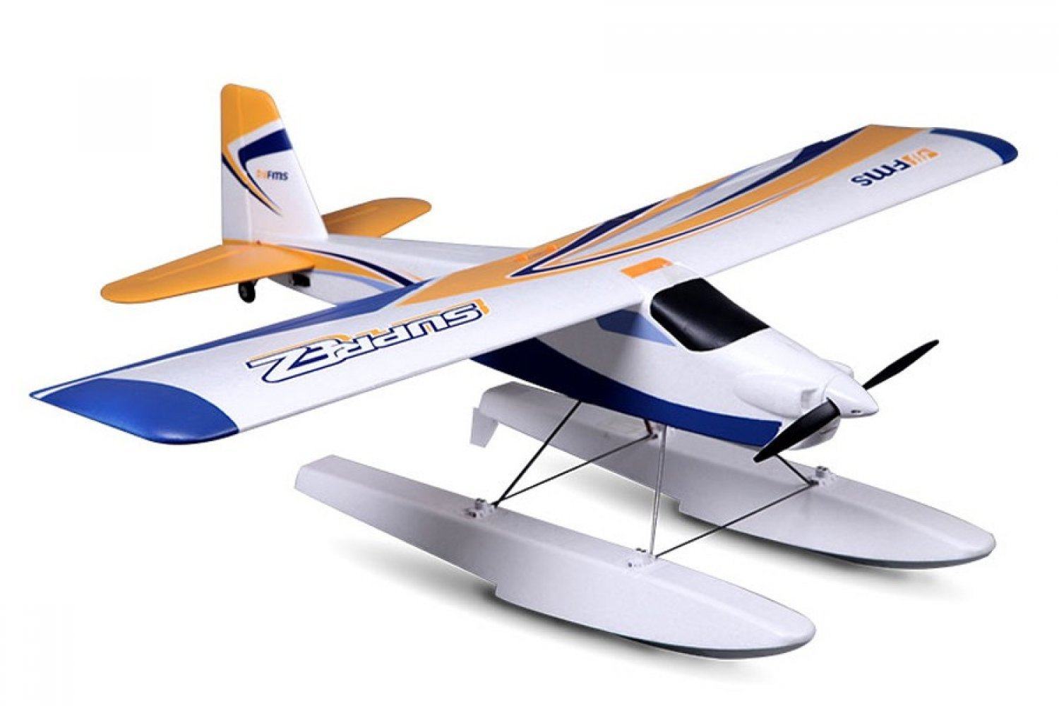 FMS078-V2 | FMS 1220mm Super Ez V3 Trainer RTF Yellow RC Plane