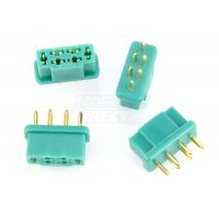G-Force Male MPX Connectors 4Pcs